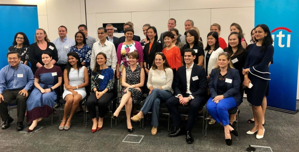 ChapmanCG HR leaders roundtable session 'The Future Workforce', co-hosted by Citi, Singapore